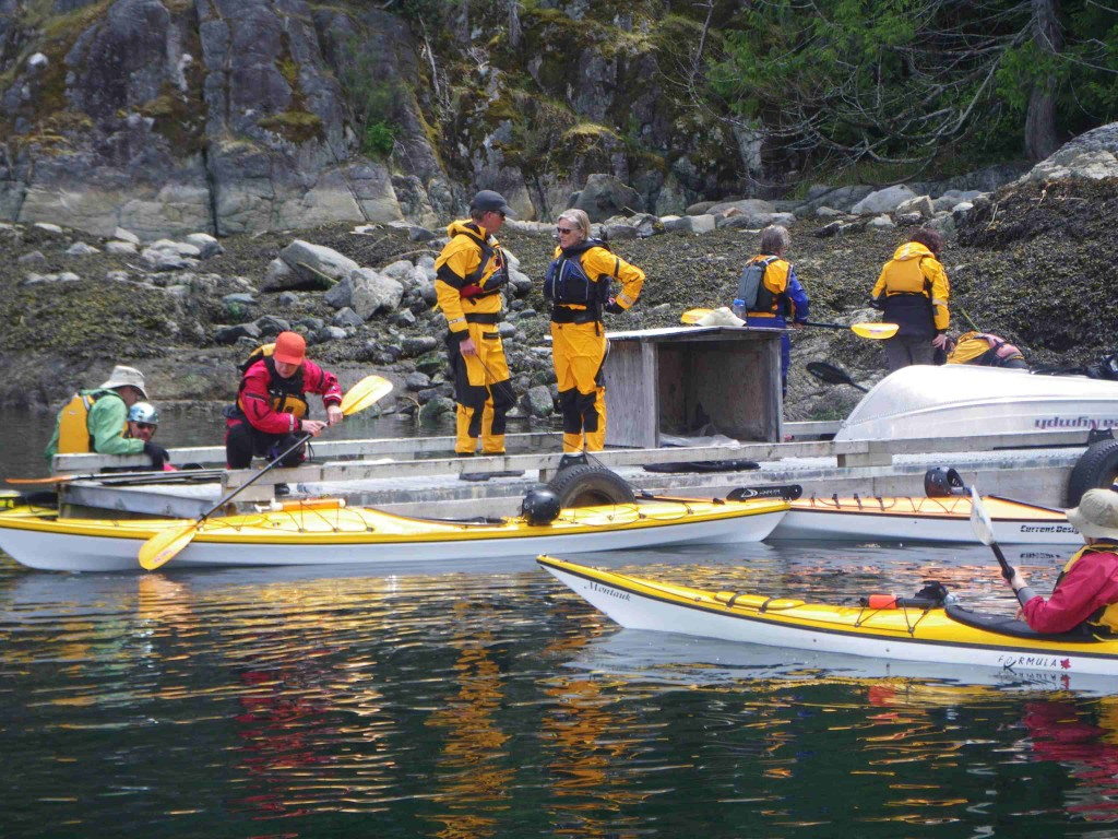 Sea kayaking B.C.'s west coast wilderness