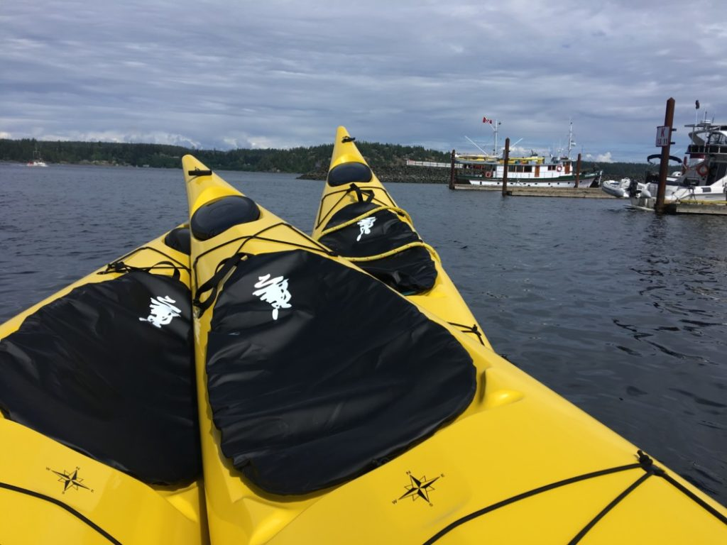 Sea Kayaking In British Columbia The Journal Of Mothership Adventures Kayak Battery Wiring Diagram 3 New Double Kayaks To Keep Our Fleet Top Form